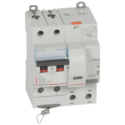 Legrand DX3 Дифавтомат 2P 16A (C) 6kA тип AС 30mA купить в интернет-магазине Азбука Сантехники