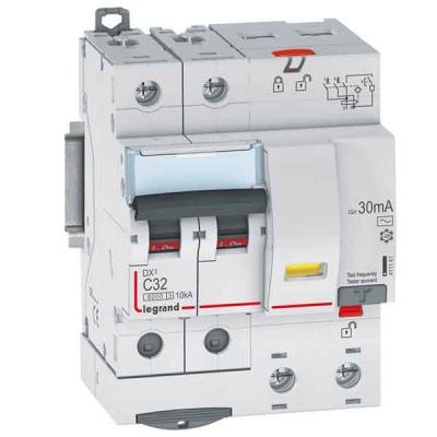 Legrand DX3 Дифавтомат 2P 40A (C) 6kA тип AС 30mA купить в интернет-магазине Азбука Сантехники