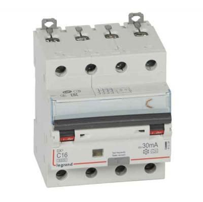 Legrand DX3 Дифавтомат 4P 16A (C) 6kA тип A 30mA купить в интернет-магазине Азбука Сантехники
