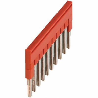 Schneider Electric Linergy TR Перемычка штыревая 10-полюсная красный купить в интернет-магазине Азбука Сантехники