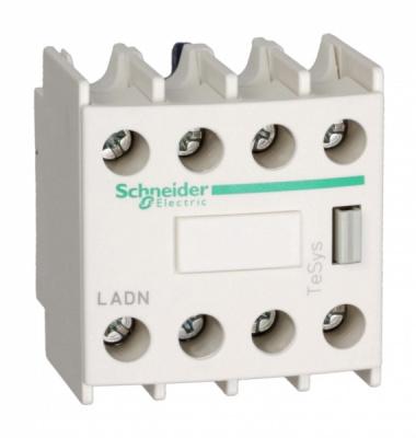 Schneider Electric Telemecanique Контакт дополнительный фронтальный 3НО+1НЗ для cерии D купить в интернет-магазине Азбука Сантехники