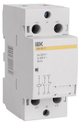 IEK КМ63-11 Контактор модульный 2P 63A купить в интернет-магазине Азбука Сантехники