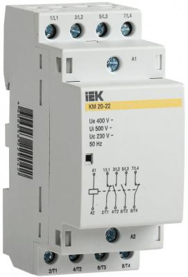 IEK КМ20-22 Контактор модульный 4P 20A купить в интернет-магазине Азбука Сантехники
