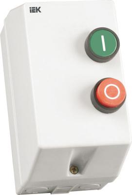 IEK Контактор КМИ11260 12A в оболочке Ue=380V/АС3, IP54 купить в интернет-магазине Азбука Сантехники