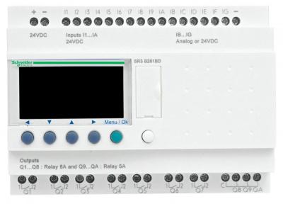 Schneider Electric Zelio Logic Реле модульное 26вх/вых =240В купить в интернет-магазине Азбука Сантехники