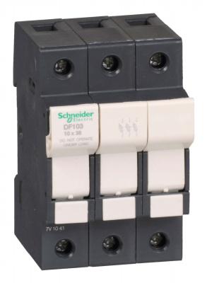 Schneider Electric Разъединитель-предохранитель 32A 3P 10Х38 купить в интернет-магазине Азбука Сантехники