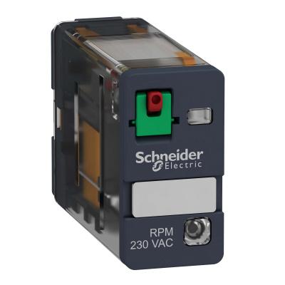 Schneider Electric Реле 1СО светодиод 230В AC купить в интернет-магазине Азбука Сантехники