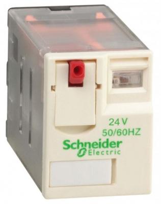 Schneider Electric Реле 4 СО 24В AC купить в интернет-магазине Азбука Сантехники