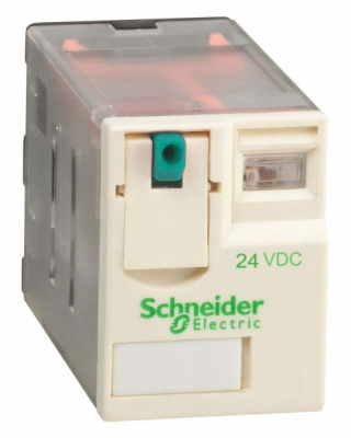 Schneider Electric Реле 2СО 24В пост. тока купить в интернет-магазине Азбука Сантехники