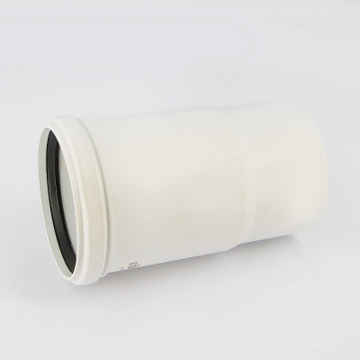 Патрубок компенсационный Sinikon Комфорт Ø 110 мм полипропиленовый белый купить в интернет-магазине Азбука Сантехники