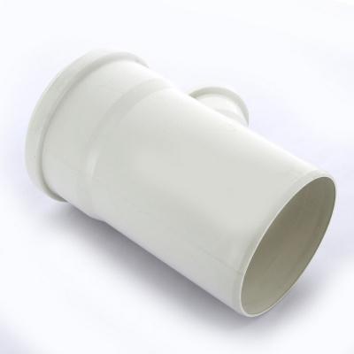 Тройник Sinikon Комфорт Ø 110 × 50 мм × 45° полипропиленовый белый купить в интернет-магазине Азбука Сантехники