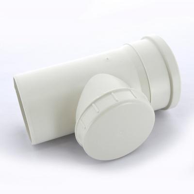 Ревизия Sinikon Комфорт Ø 110 мм полипропиленовая белая купить в интернет-магазине Азбука Сантехники