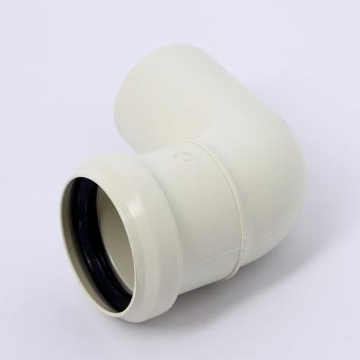 Отвод Sinikon Комфорт Ø 50 мм × 87° полипропиленовый белый купить в интернет-магазине Азбука Сантехники
