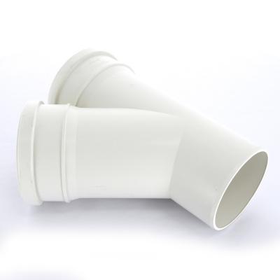 Тройник Sinikon Комфорт Ø 110 × 110 мм × 45° полипропиленовый белый купить в интернет-магазине Азбука Сантехники