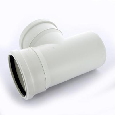 Тройник Sinikon Комфорт Ø 110 × 110 мм × 87° полипропиленовый белый купить в интернет-магазине Азбука Сантехники