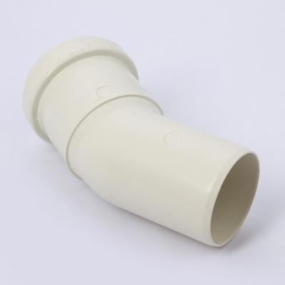 Отвод Sinikon Комфорт Ø 50 мм × 30° полипропиленовый белый купить в интернет-магазине Азбука Сантехники