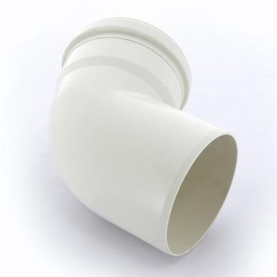 Отвод Sinikon Комфорт Ø 110 мм × 67° полипропиленовый белый купить в интернет-магазине Азбука Сантехники