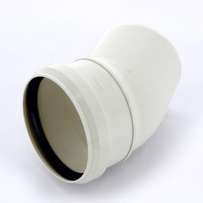 Отвод Sinikon Комфорт Ø 110 мм × 30° полипропиленовый белый купить в интернет-магазине Азбука Сантехники