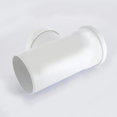 Тройник Sinikon Комфорт Ø 40 × 40 мм × 87° полипропиленовый белый купить в интернет-магазине Азбука Сантехники