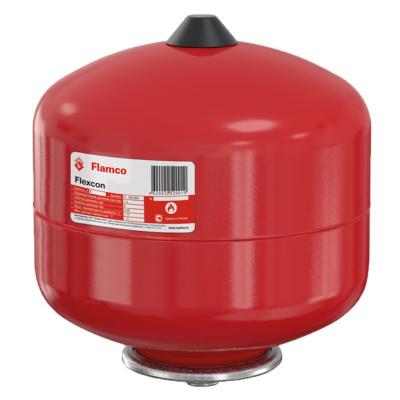 Расширительный бак для отопления 50 л красный Flamco Flexcon R 50, 1,5 - 6 бар купить в интернет-магазине Азбука Сантехники