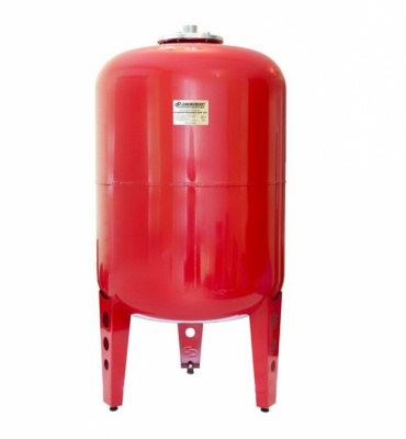 """Бак расширительный Джилекс 80 л для отопления, красный, Ø 1"""" купить в интернет-магазине Азбука Сантехники"""