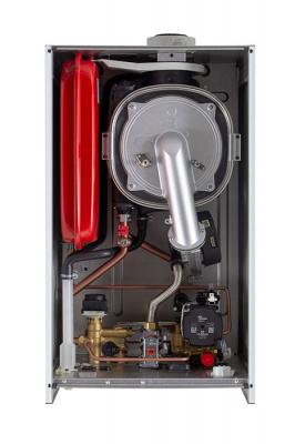 Котел газовый настенный конденсационный двухконтурный BAXI LUNA Duo-tec  E 28, с закрытой камерой сгорания, 28 кВт купить в интернет-магазине Азбука Сантехники