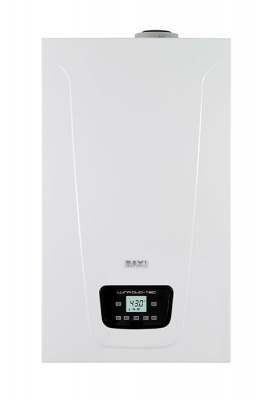 Котел газовый настенный конденсационный одноконтурный BAXI LUNA Duo-tec  E 1.24, с закрытой камерой сгорания, 24 кВт купить в интернет-магазине Азбука Сантехники