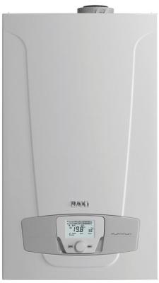Котел газовый настенный конденсационный одноконтурный BAXI LUNA PLATINUM+ 1.24 GA, с закрытой камерой сгорания, 24 кВт купить в интернет-магазине Азбука Сантехники
