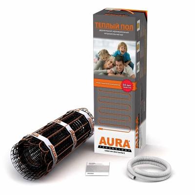 Мат нагревательный AURA MTA 1350 Вт, 9,0 м² купить в интернет-магазине Азбука Сантехники