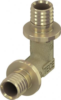 Уголок соединительный TECE TECEflex 90° 16 × 16 мм, латунь купить в интернет-магазине Азбука Сантехники