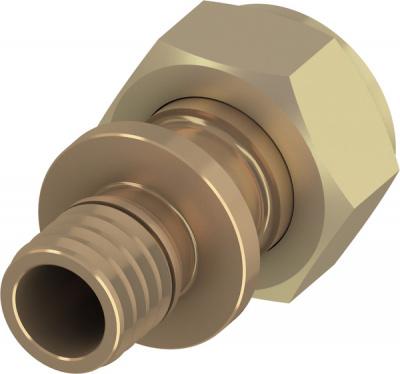 Соединение прямое с накидной гайкой TECE TECEflex 32 × 1 1/4'', бронза купить в интернет-магазине Азбука Сантехники