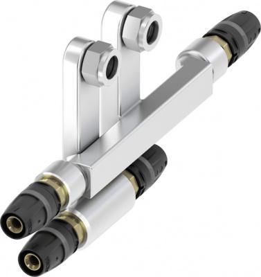 Тройник двойной TECE TECElogo для подключения радиаторов Ø 16 × 15Cu × Заглушка купить в интернет-магазине Азбука Сантехники